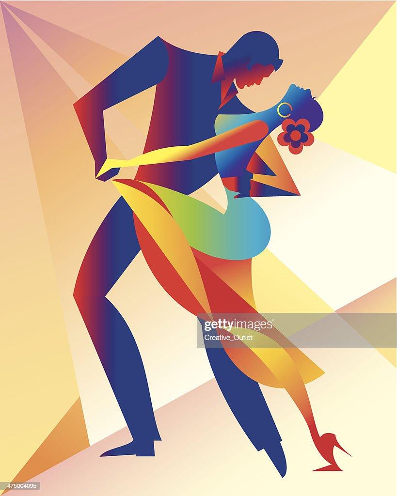 Salsa Dancers C