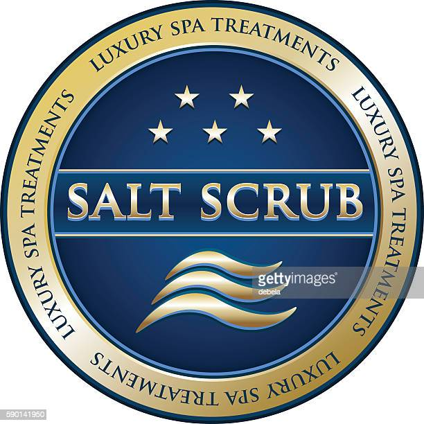 Salt Scrub Luxury Spa Treatment