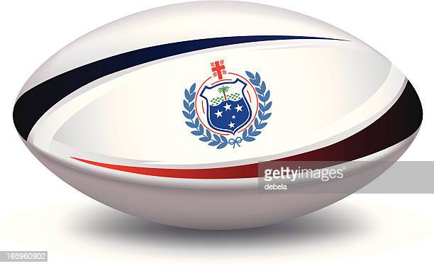 samoa rugby union football - rugby ball stock illustrations, clip art, cartoons, & icons