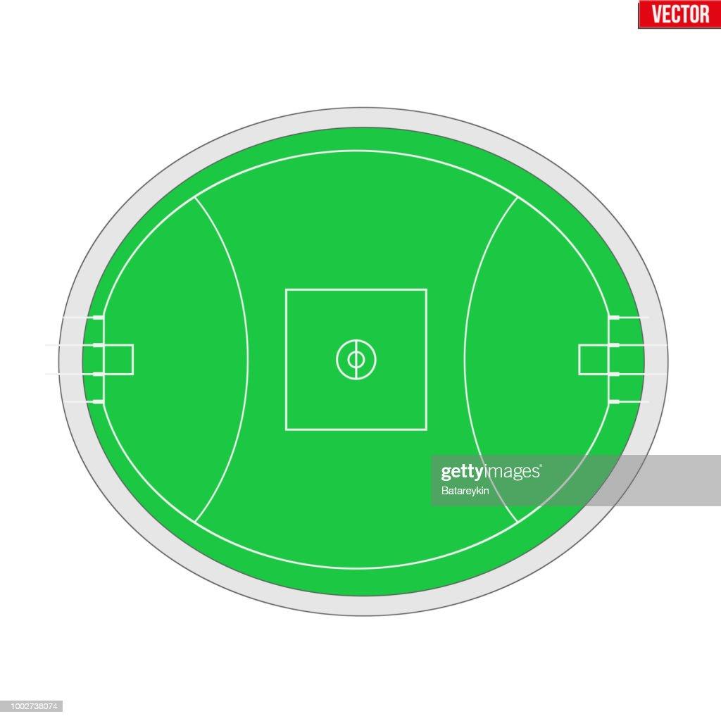 Sample Australian rules football field