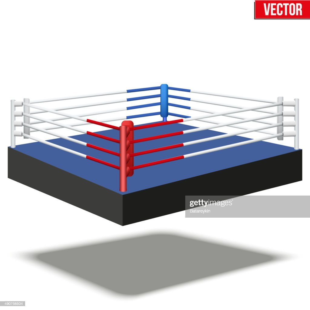 Sample boxing ring vector art getty images sample boxing ring vector art ccuart Images