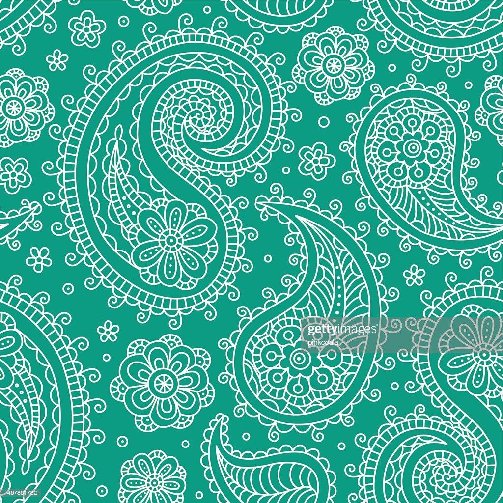 Sampless pattern green