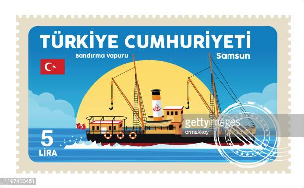 samsun, flag ship - may stock illustrations