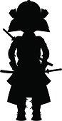 Samurai Warrior Silhouette.