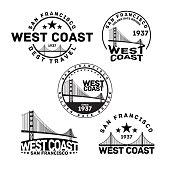 San Francisco Logo Stamp
