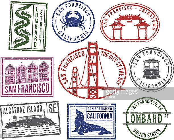 San Francisco rubber stamps