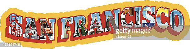 San Francisco Travel Sticker
