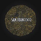 San Fransisco Illustration