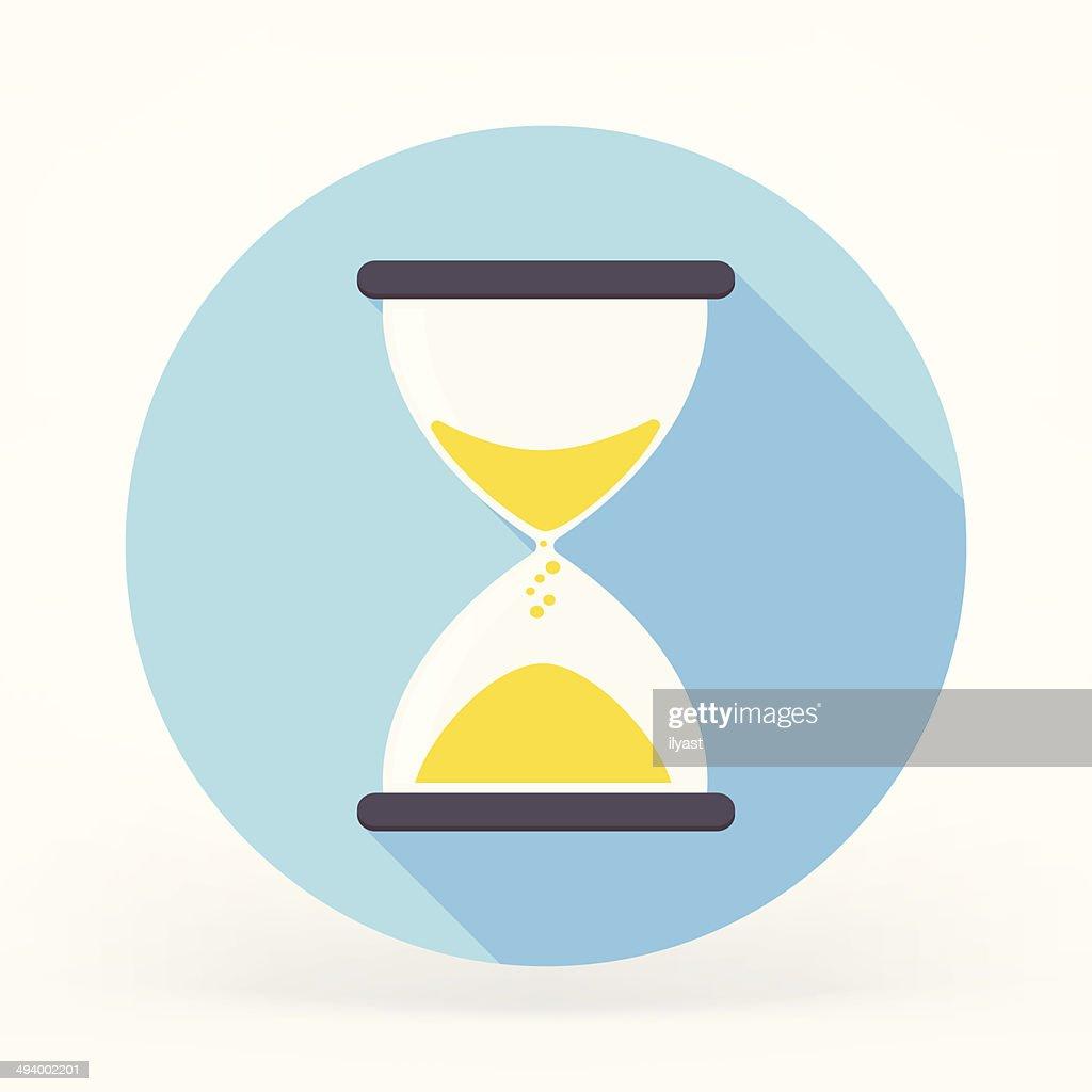 Sandglass Flat Icon