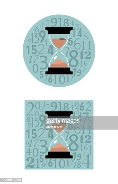 Sandglass time concept