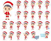 Santa Claus Costume boy_1