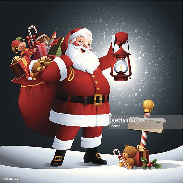 Santa Claus - Lantern