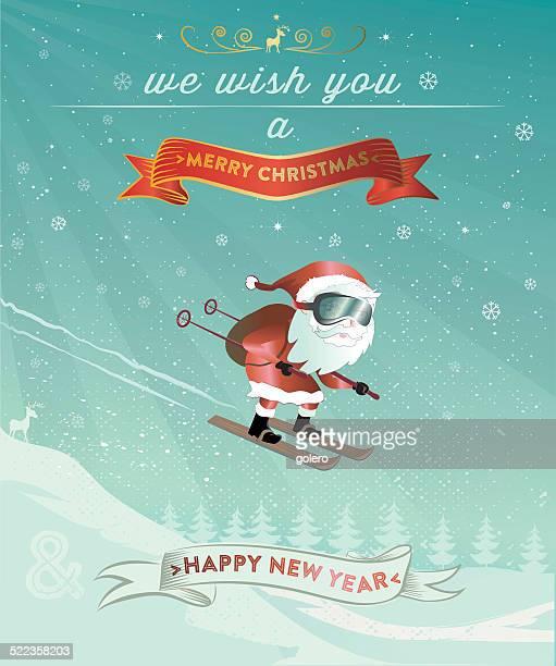 santa claus new years jump