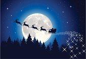 Santa Claus Sleigh Tonight