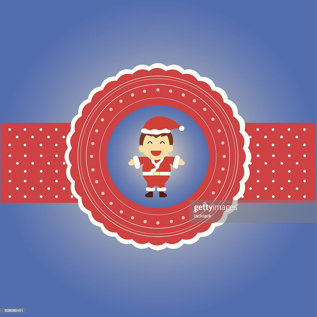 Santa claus : Vectorkunst