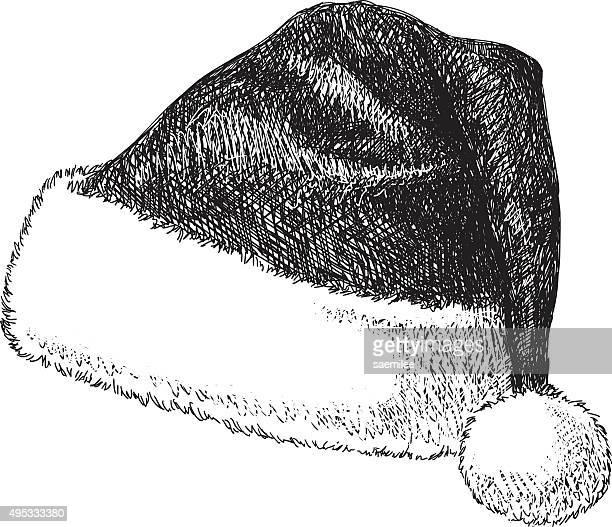 Santa Hat Drawing