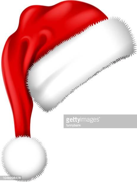 santa hat symbol - hat stock illustrations