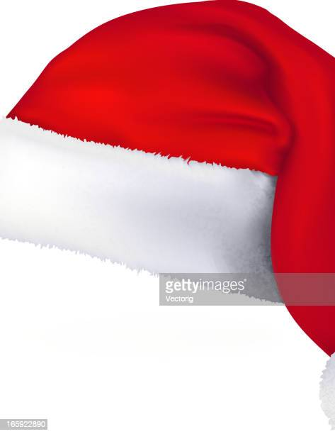 santa hat - traditional clothing stock illustrations