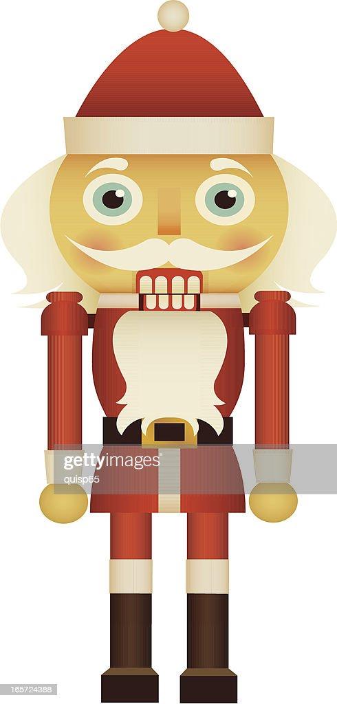 Santa Nutcracker : stock illustration