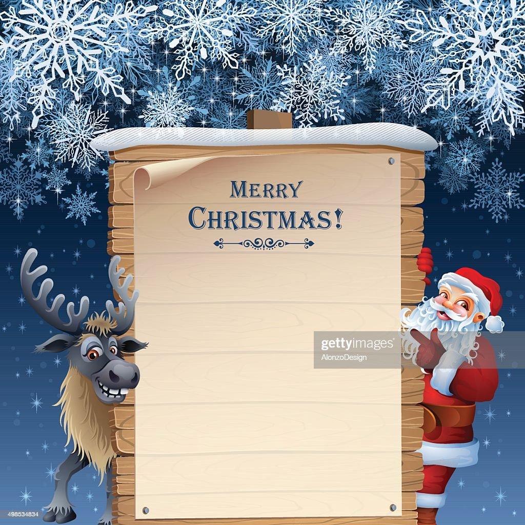 Santa's List : stock illustration