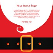 Santa's message banner