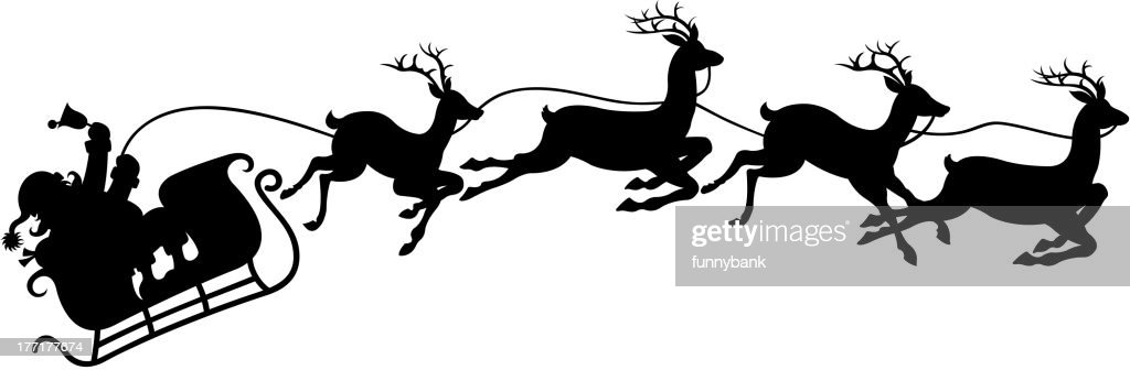 Santas Sleigh Vector Art | Getty Images