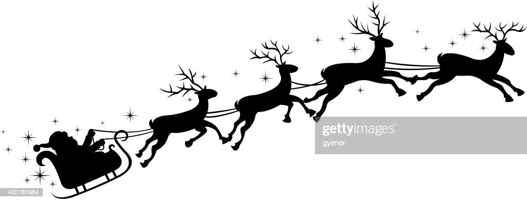 Santa Sleigh Stock Images, Royalty-Free Images & Vectors ...