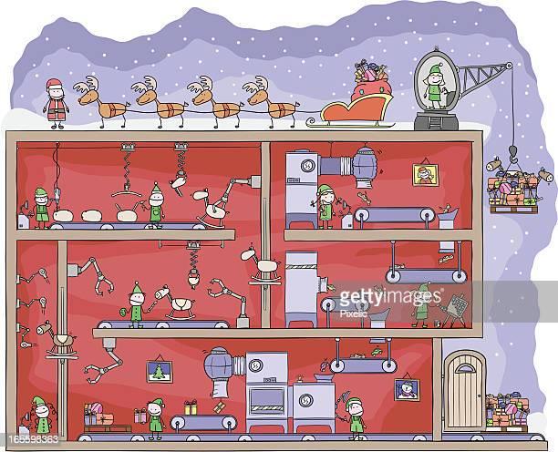 サンタズおもちゃ工場