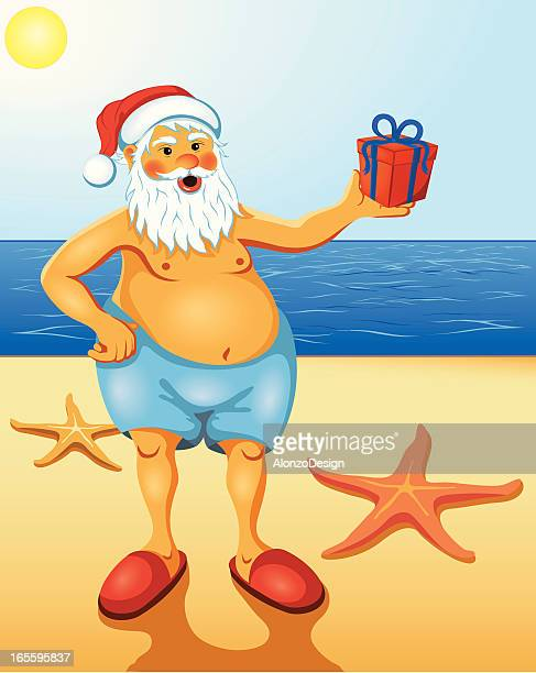World's Best Merry Christmas Beach Stock Illustrations ...