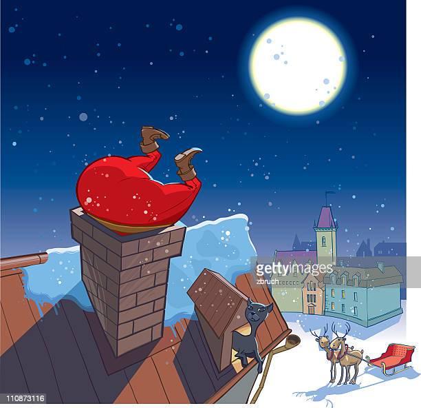 Santa's besuchen Sie