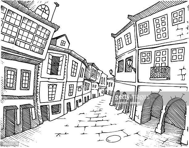 santiago de compostela - santiago de compostela stock illustrations, clip art, cartoons, & icons
