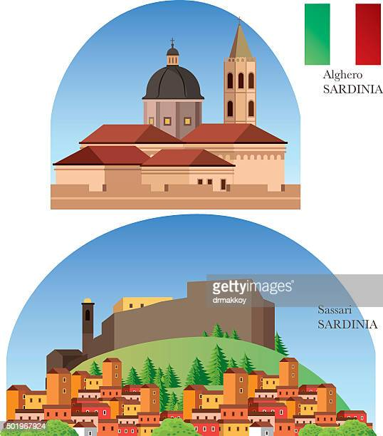 sardinia - sardinia stock illustrations, clip art, cartoons, & icons