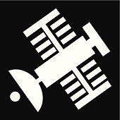 Satellite Icon- Vector