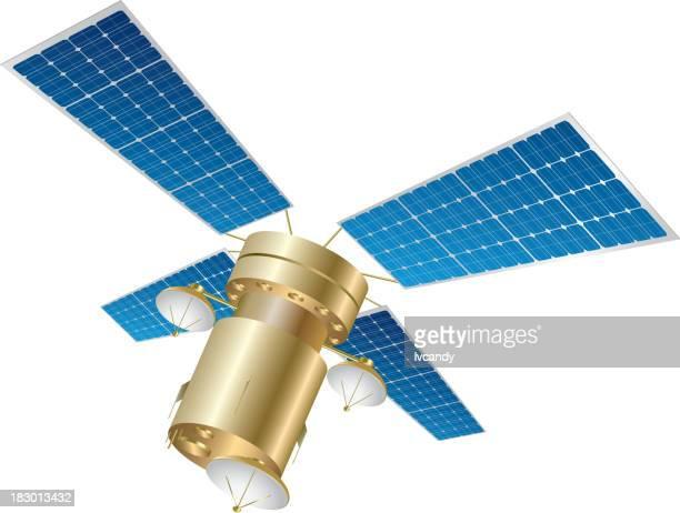 satellite - satellite view stock illustrations