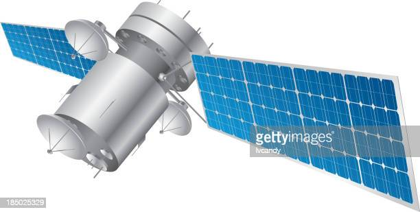 satellite - receiver stock illustrations