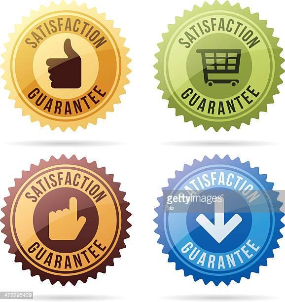 Satisfaction Guarantee Seals