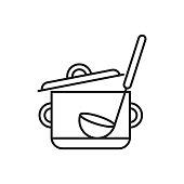 Saucepan With Ladle