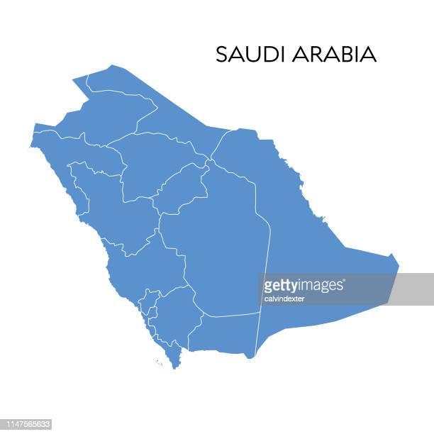 サウジアラビアのマップ - サウジアラビア点のイラスト素材/クリップアート素材/マンガ素材/アイコン素材