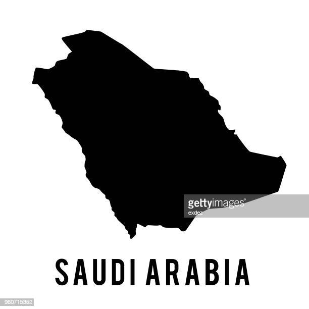 サウジアラビアマップ - サウジアラビア点のイラスト素材/クリップアート素材/マンガ素材/アイコン素材