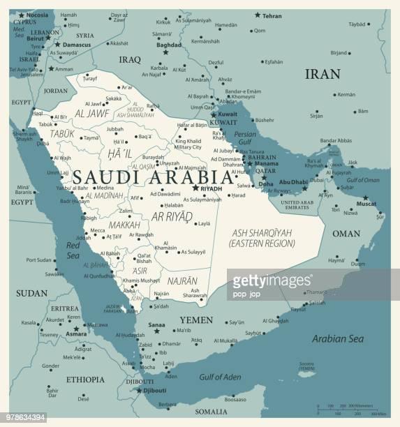 illustrazioni stock, clip art, cartoni animati e icone di tendenza di 24 - arabia saudita - vintage murena isolated 10 - paesi del golfo