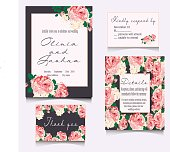 Save the date cards, wedding invitation