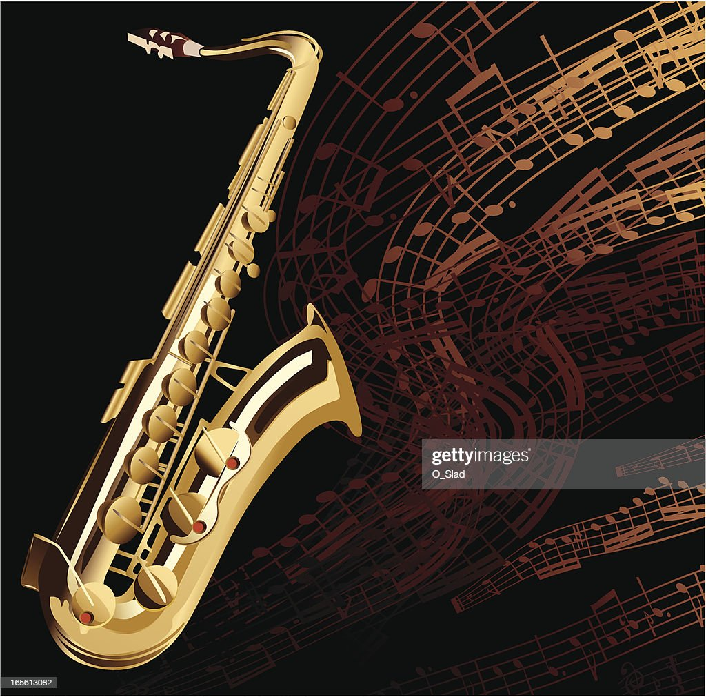 Saxophone High-Res Vector Graphic - Getty Images