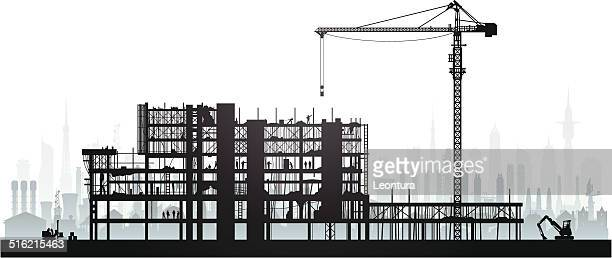 scaffolding - foundation stock illustrations, clip art, cartoons, & icons