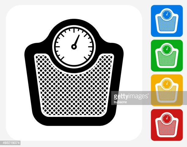 Scale Icon Flat Graphic Design