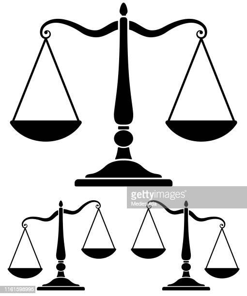 scale of justice - weight scale stock illustrations