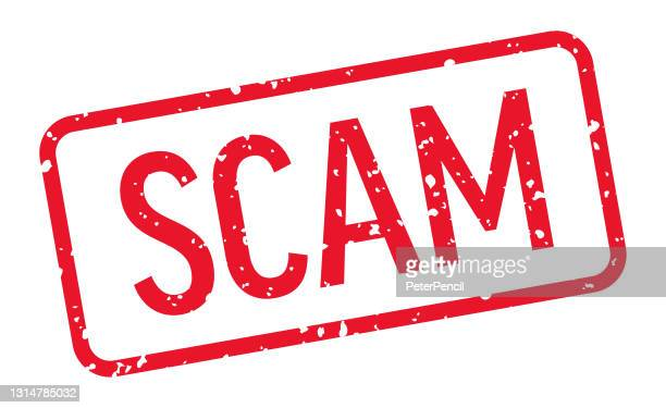 scam - stamp, imprint, seal template. vector stock illustration - scammer stock illustrations