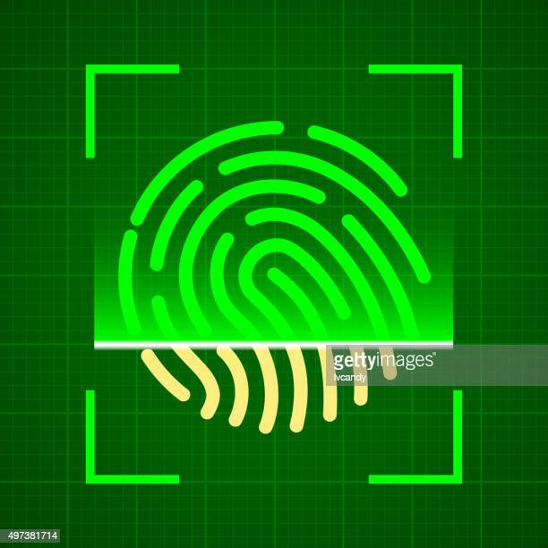 Scanning fingerprint