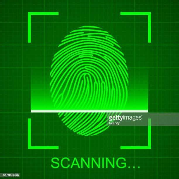 Scanning the Fingerprint