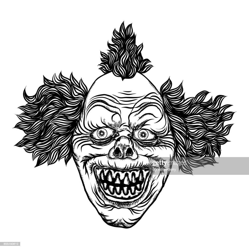 Image Electronique De Tattoo Joker Clown Telecharger 440 Clip Arts