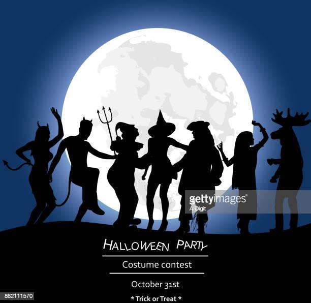 Scary Night Moon Fright